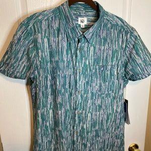 Tentree short sleeve button up shirt